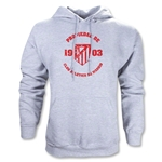 Atletico Madrid Distressed Property Hoody (Ash Gray)