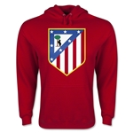 Atletico Madrid Crest Hoody (Red)