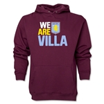 Aston Villa We Are Villa Hoody (Maroon)