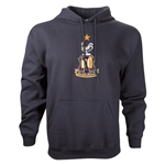 Bradford City Crest Hoody (Black)
