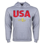 USA CONCACAF Gold Cup 2015 Big Logo Hoody (Ash)