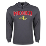 Mexico CONCACAF Gold Cup 2015 Big Logo Hoody (Dark Grey)