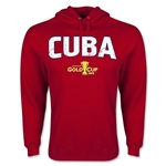 Cuba CONCACAF Gold Cup 2015 Big Logo Hoody (Red)