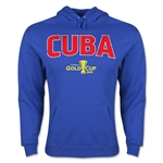 Cuba CONCACAF Gold Cup 2015 Big Logo Hoody (Royal)