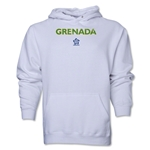 Grenada CONCACAF Distressed Hoody (White)