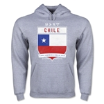 Chile Copa America 2015 Shield Hoody (Ash)