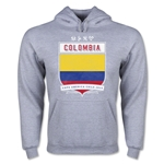 Colombia Copa America 2015 Shield Hoody (Ash)