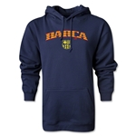 Barcelona Distressed Stripe Hoody (Navy)