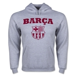 Barcelona Distressed Hoody (Ash Gray)