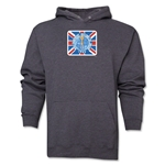 1966 FIFA World Cup England Emblem Hoody (Dark Grey)