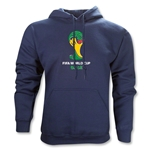 2014 FIFA World Cup Brazil(TM) Emblem Hoody (Navy)