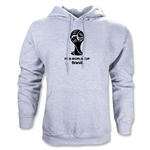 2014 FIFA World Cup Brazil(TM) Emblem Hoody (Gray)