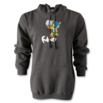 2014 FIFA World Cup Brazil(TM) Mascot Hoody (Dark Gray)