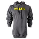 Brazil 2014 FIFA World Cup Brazil(TM) Core Hoody (Gray)