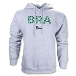 Brazil 2014 FIFA World Cup Brazil(TM) Elements Hoody (Ash Gray)