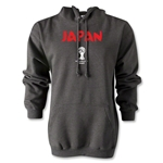 2014 FIFA World Cup Brazil(TM) Japan Core Hoody (Dark Gray)