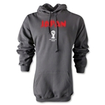 2014 FIFA World Cup Brazil(TM) Japan Core Hoody (Gray)