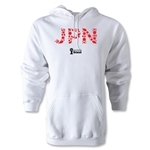 2014 FIFA World Cup Brazil(TM) Team Japan Hoody (White)