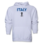 Italy 2014 FIFA World Cup Brazil(TM) Men's Core Hoody (White)