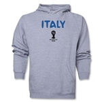 Italy 2014 FIFA World Cup Brazil(TM) Men's Core Hoody (Ash)