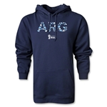 Argentina 2014 FIFA World Cup Brazil(TM) Men's Elements Hoody (White)