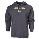 Germany 2014 FIFA World Cup Brazil(TM) Men's Palm Hoody (Dark Grey)