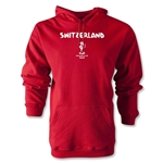 Switzerland 2014 FIFA World Cup Brazil(TM) Men's Core Hoody (Red)