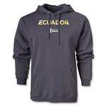 Ecuador 2014 FIFA World Cup Brazil(TM) Men's Palm Hoody (Dark Grey)