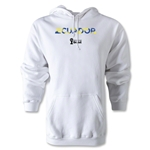 Ecuador 2014 FIFA World Cup Brazil(TM) Men's Palm Hoody (White)