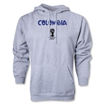 Colombia 2014 FIFA World Cup Brazil(TM) Men's Core Hoody (Ash)