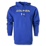Colombia 2014 FIFA World Cup Brazil(TM) Men's Palm Hoody (Royal)