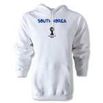 South Korea 2014 FIFA World Cup Brazil(TM) Men's Core Hoody (White)