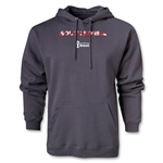 South Korea 2014 FIFA World Cup Brazil(TM) Men's Palm Hoody (Dark Gray)