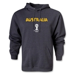 Australia 2014 FIFA World Cup Brazil(TM) Men's Core Hoody (Gray)