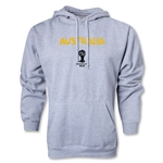 Australia 2014 FIFA World Cup Brazil(TM) Men's Core Hoody (Ash Gray)