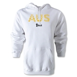 Australia 2014 FIFA World Cup Brazil(TM) Men's Elements Hoody (White)