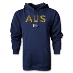 Australia 2014 FIFA World Cup Brazil(TM) Men's Elements Hoody (Navy)