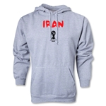 Iran 2014 FIFA World Cup Brazil(TM) Men's Core Hoody (Ash Grey)