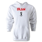 Iran 2014 FIFA World Cup Brazil(TM) Men's Core Hoody (White)