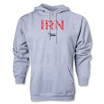 Iran 2014 FIFA World Cup Brazil(TM) Men's Elements Hoody (Ash Grey)