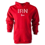 Iran 2014 FIFA World Cup Brazil(TM) Men's Elements Hoody (Red)