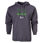 2014 FIFA World Cup Brazil(TM) All In One Rhythm Hoody (Dark Gray)