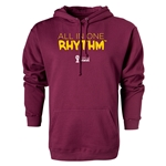 2014 FIFA World Cup Brazil(TM) All In One Rhythm Hoody (Maroon)