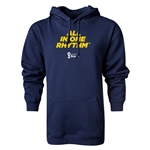 2014 FIFA World Cup Brazil(TM) All In One Rhythm Hoody (Navy)