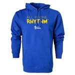 2014 FIFA World Cup Brazil(TM) All In One Rhythm Hoody (Royal)