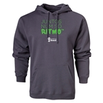 2014 FIFA World Cup Brazil(TM) Portugese All In One Rhythm Hoody (Dark Gray)