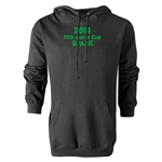 2014 FIFA World Cup Brazil(TM) Logotype Hoody (Black)