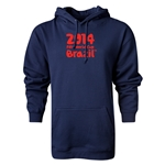 2014 FIFA World Cup Brazil(TM) Logotype Hoody (Navy)