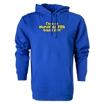 2014 FIFA World Cup Brazil(TM) Portugese Logotype Hoody (Royal)