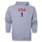 USA 2014 FIFA World Cup Brazil(TM) Men's Core Hoody (Ash Grey)